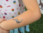 a new dinosaur tattoo