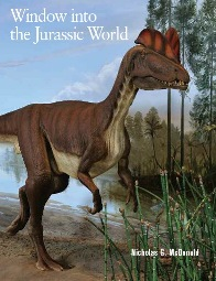 cover of park book Windown Into the Jurassic World