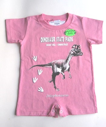 Infant Onesie romper with glow-in-the-dark image